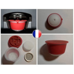 1 refillable pod Dolce Gusto reusable capsule