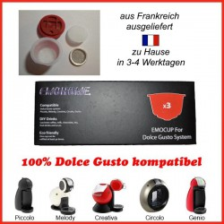 reusable capsules for Dolce Gusto